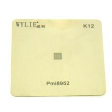 Трафарет BGA WYLIE K12 для PM8952