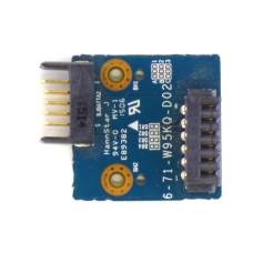 Плата 6-71-W95KQ-D02 адаптер аккумулятора для Dexp N2840 Б/У