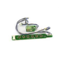 Плата кнопок L1720BGM-KEY 6870TA03C10 для монитора LG 1720, Б/У