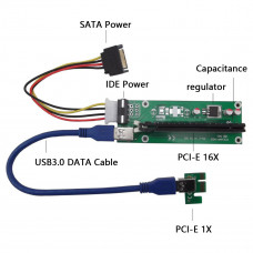 Адаптер PCI-Ex 1-16X to USB 3.0 (PCI-Ex 1x)
