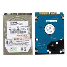 """HDD 2.5"""" Toshiba MK1237GSX, 120 Гб, Б/У"""