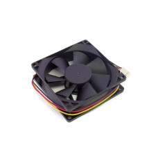 Вентилятор 80x80x25 GEMBIRD D8025-3P 12V 3pin, sleeve