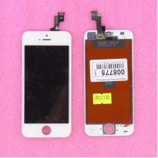 Дисплей с тачскрином Apple iPhone 5S/SE белый (JDF)