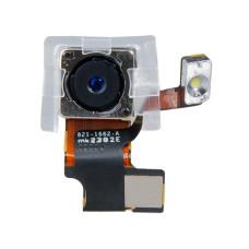 Камера тыловая со вспышкой для смартфона Apple iPhone 5S, шлейф в комплекте