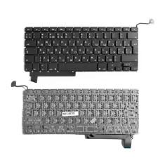 """Клавиатура для Apple MacBook Pro 15"""" A1286 черная, без рамки, Г-образный Enter"""