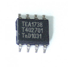 TEA1738T SMPS control IC Adjustable overpower time-out, SO-8