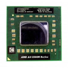 Процессор AMD A4-3300M 1.9 ГГц Socket FS1 (FS1r1), Lion (Griffin), TDP 35W, Б/У
