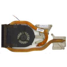 Вентилятор для Acer Aspire 7551G (AMD), 60.4HP06.002, 3pin, с радиатором, Б/У