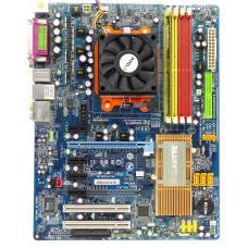 Комплект мат.плата GIGABYTE GA-M55S-S3, AMD Sempron 3000+, DDR 512 Мб