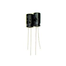 Конденсатор электролитический K50-35, 100uf, 25V, 6х12 (Chang)