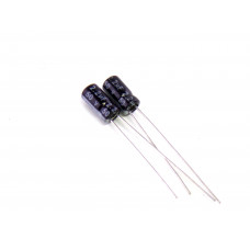 Конденсатор электролитический K50-35, 2.2uf, 50V, 4x8