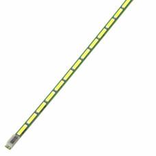 """Подсветка LED 24"""" 238WF1 REV:0.3 (6916L-1577A), 7020 6V, 54LED, 7020 6V, 534мм, Текстолит для LG 24MT55V-PZ (LM238WF1(SL)(E1)), Б/У"""