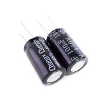 Конденсатор электролитический 100 мкФ х 450 В, 18х32 мм