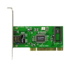 Сетевая карта D-Link DFE-530TX+, PCI, 10/100 Мбит/сек, DL10038D, Поддержка 802.3x Flow Control, Б/У