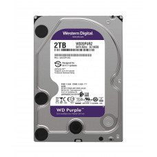 """HDD 3.5"""" Western Digital WD20PURZ, 2 Тб, SATA-III 6Gbit/s, 5400 об/мин, 64 Мб"""