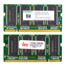 Память SODIMM DDR Kingmax 256Mb 400 МГц (PC-3200) 2.5V, Б/У