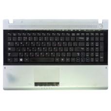 Верхняя часть корпуса BA75-03111C для ноутбука Samsung NP-RV515, NP-RV520 черная+серая, Б/У