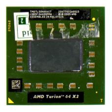 Процессор AMD Turion 64 X2 Mobile TL-50 1.6 ГГц Socket S1 (S1g1), Tyler, TDP 31W, Б/У