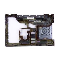 Нижняя часть корпуса AP0EZ000100 для ноутбука Lenovo Ideapad G560, G565 черная, Б/У