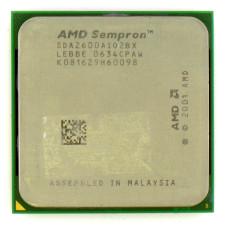 Процессор AMD Sempron 2600+ 1.6 ГГц Socket 754, Palermo, TDP 59W, Б/У