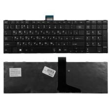 Клавиатура для Toshiba C50, L50, C850, P870 Series черная, плоский Enter