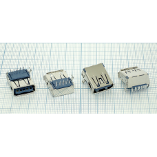 Разъем USB 3.0 Type A синий