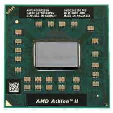 Процессор для ноутбука AMD Athlon II Dual-Core Mobile P340 Champlain, S1, 2.2GHz, 25 Вт, Б/У