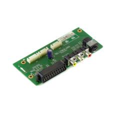 Плата ввода-вывода 782.L27W18-400A, SCART, AV, S-Video, Б/У