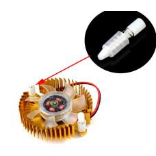 Универсальный крепежный зажим для радиаторов ПК, 3 мм (2 шт)