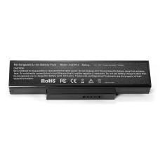 Аккумулятор K72H 6600mAh 10.8V черный для ноутбука Asus K72, N71, N73, X72, X73, K73, F2, F3, A9 Series