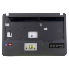 Верхняя часть корпуса BA81-08520A для ноутбука Samsung NP-R52 серая, Б/У, Есть дефекты