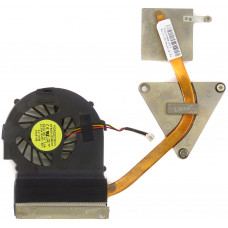 Вентилятор для DELL Inspirion N5030, 60.4EM36.001, 3pin, с радиатором, Б/У