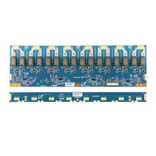 "Инвертор FDK PCB2638-1 A06-126001A, 24V, 32"" для телевизора Sony KLV-32A10E (LTY320W2-L02), Б/У"