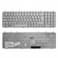 Клавиатура для Dell Inspiron 1318, 1420, 1520, 1521, Vostro 500 Series серебристая, Г-образный Enter