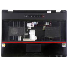 Верхняя часть корпуса 24-46927-XX для ноутбука Roverbook 552VHB черная, Б/У, Есть дефекты
