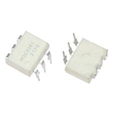 Оптопара MOC3061, симистор, DIP-6