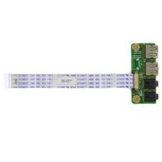 Плата 15BFR7-051001 (14B512-FR7021), 2 USB + 2 AUDIO JACK 3.5