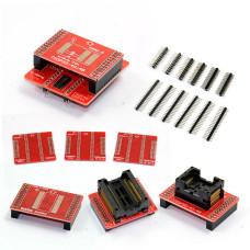 Адаптеры TSOP32 TSOP40 TSOP48 SOP44 SOP56 для MiniPro TL866 A, TL866 CS, TL866 II