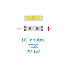 Светодиод SMD 7020, 6V, 1W (BD72K)