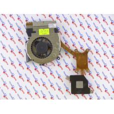 Вентилятор для ноутбука Samsung R523 R525 R528 R530 R538 R540 R580 RV508 [BA81-08475B 5V 0.5A 3pin] с радиатором, Б/У