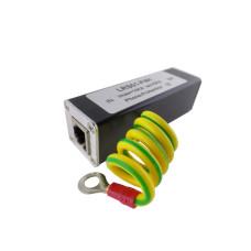 Грозозащита телефонной сети LRS01-P4H, RJ11 (гнездо), 10 кA, < 0.5 н/с