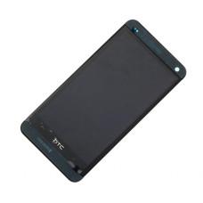 Дисплей с тачскрином HTC One/M7 черный