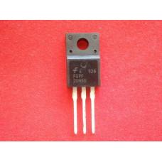 Транзистор FQPF20N60C полевой, N-канал, 600 В, 20A, TO-220F
