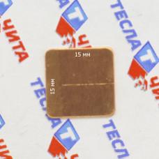 Медная термопрокладка 0.6мм - 1шт.
