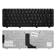 Клавиатура KB-101097 для ноутбука HP Pavilion DV2000, Compaq Presario V3000 Series [черная, Г-образный Enter] TopON