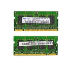 Память SODIMM DDR2 Samsung 512Mb 667 МГц (PC2-5300) CL5 1.8V, Б/У