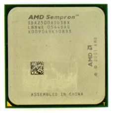 Процессор AMD Sempron 2500+ 1.4 ГГц Socket 754, Palermo, TDP 59W, Б/У