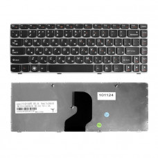 Клавиатура KB-101124 для ноутбука Lenovo IdeaPad Z450, Z460, Z460A Series [черная] TopON