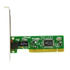 Сетевая карта TP-LINK TF-3239DL, PCI, 10/100 Mbps, Поддержка 802.3x Flow Control, Б/У