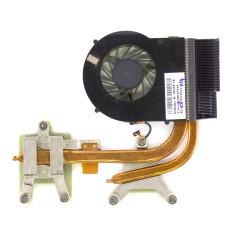 Вентилятор для HP Pavilion DV6-3000, FCNLX81, 3pin, с радиатором, Б/У